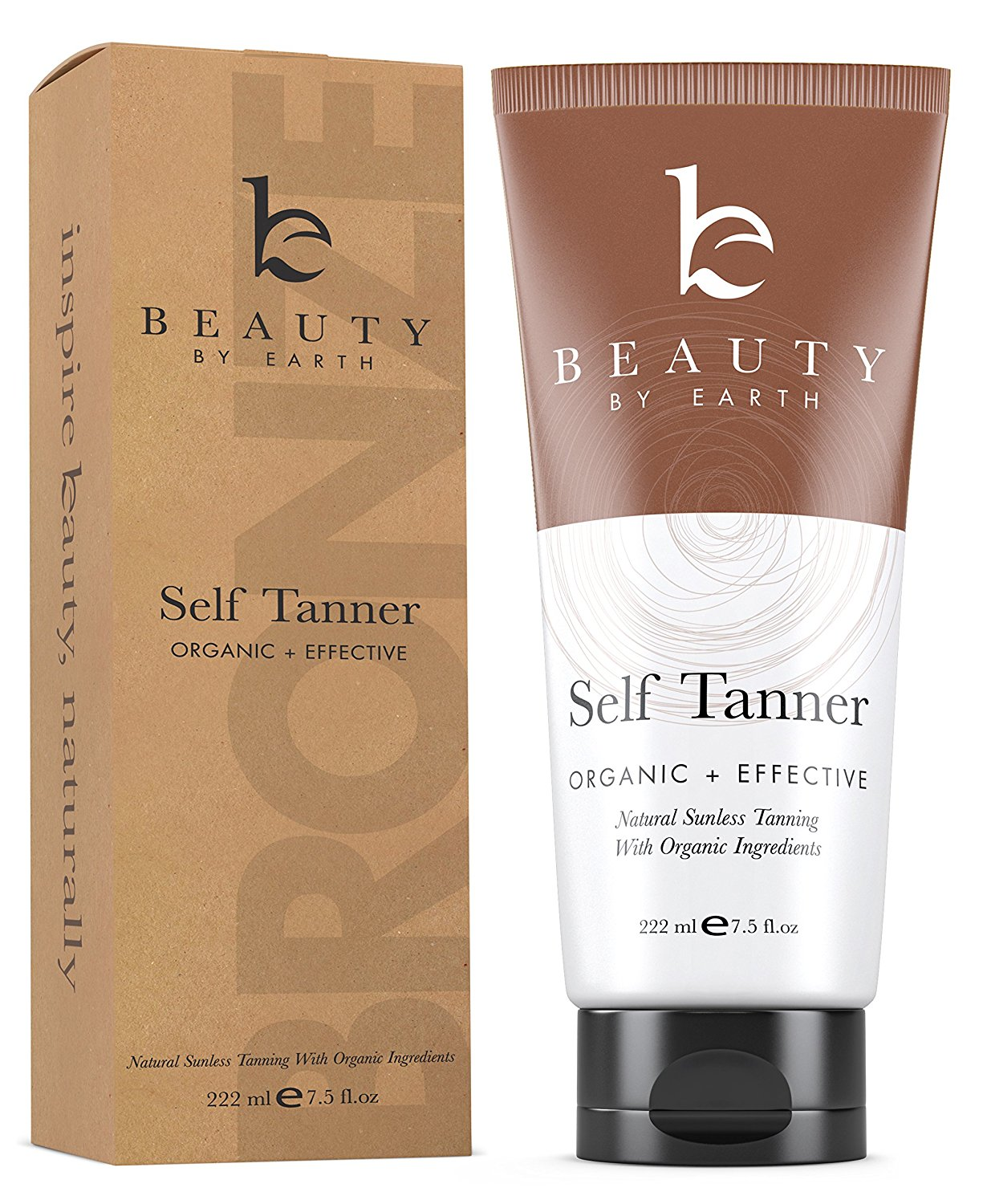 Best Men's Self Tanner 2018: Organic Sunless Tanner for Men for Face and Body