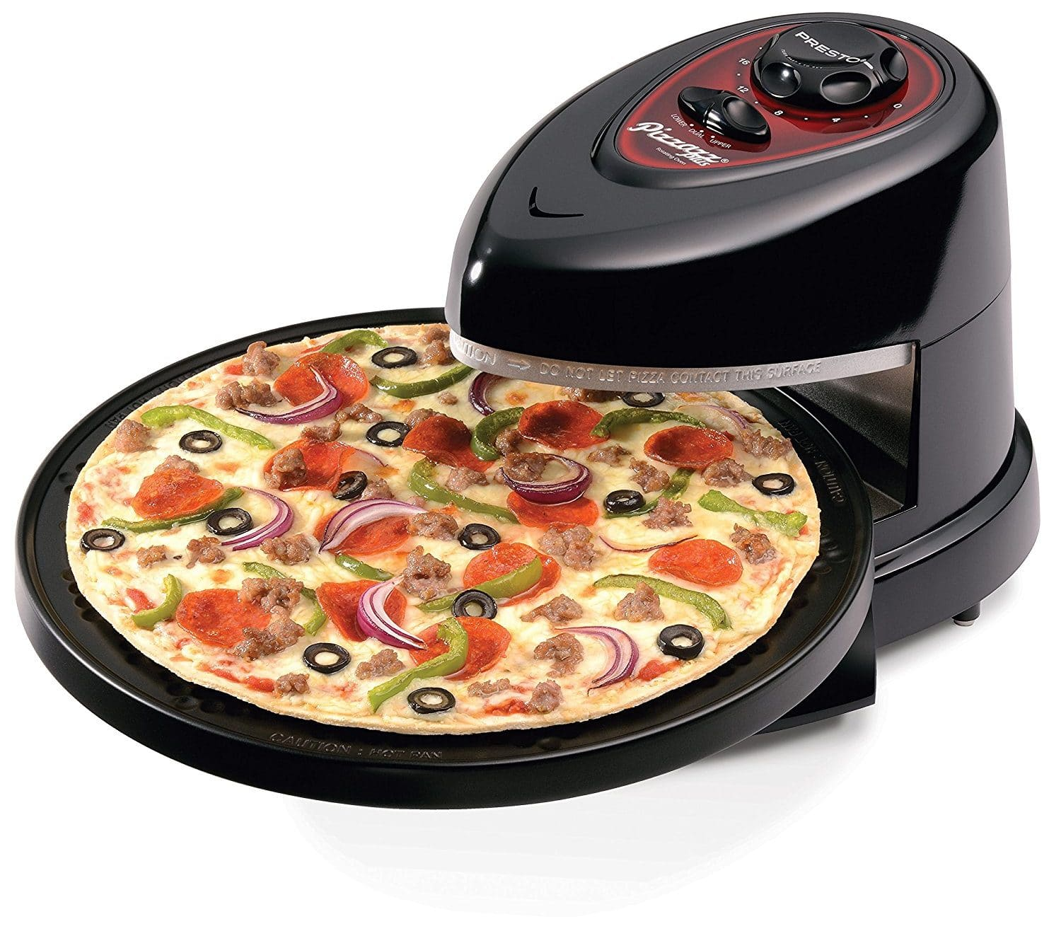 Best Pizza Makers 2018: National Presto Indoor Pizza Oven