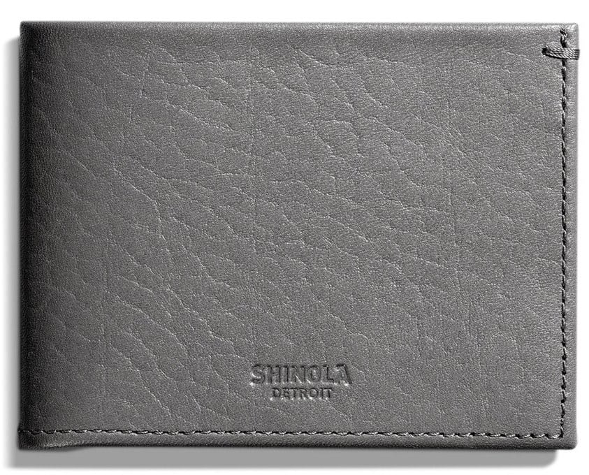 Christmas Gifts for Men 2016: Shinola Wallet 2017