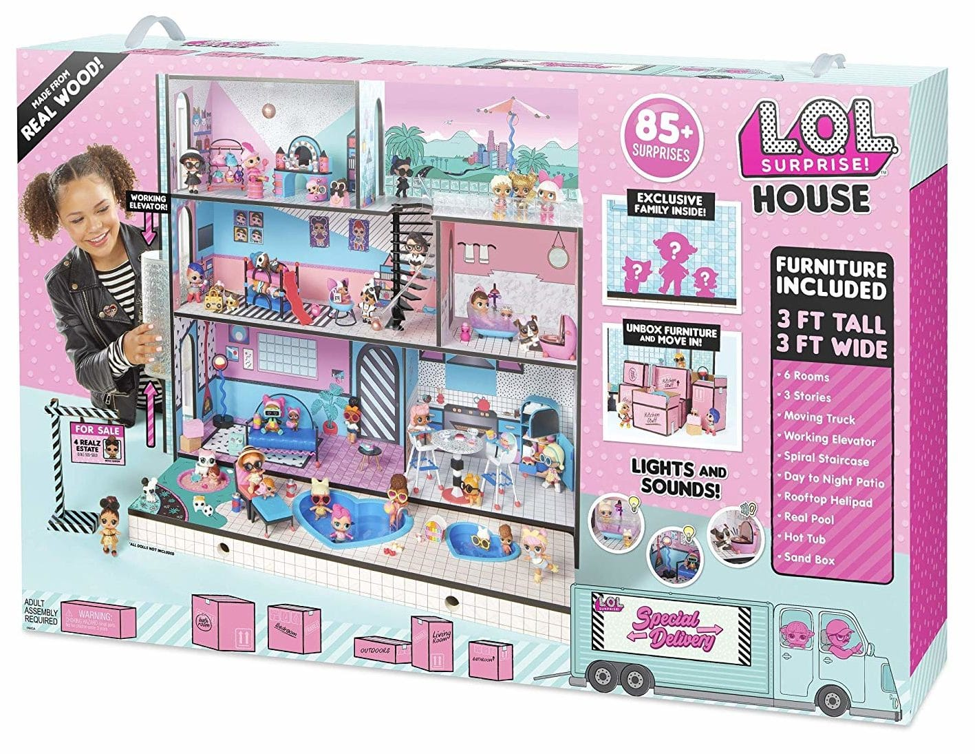 Where to Buy the L.O.L Surprise Doll House 2018