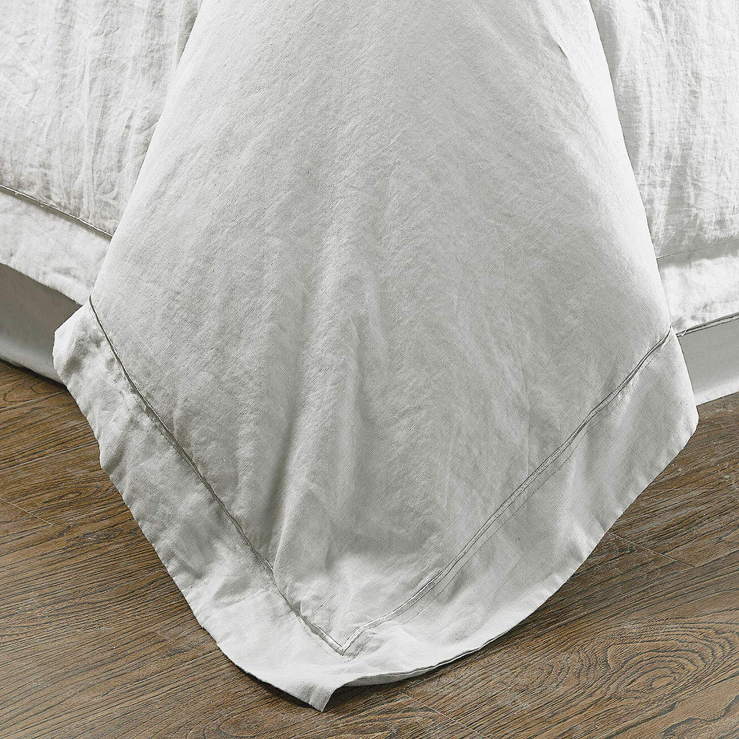 Grey Linen Duvet Cover by Simple&Opulence 2020